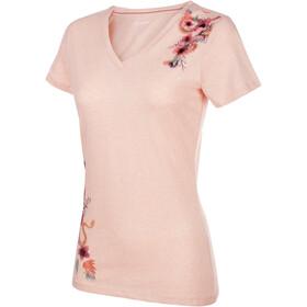 Mammut Zephira Naiset Lyhythihainen paita , vaaleanpunainen